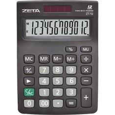Calculadora De Mesa Zeta Básica ZT-712