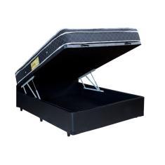 Cama Box Viúva com Colchão Brasil Sonhos 110cm Brasil Varejos