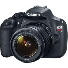 Câmera Digital Canon EOS Rebel T5 DSLR(Profissional) Full HD