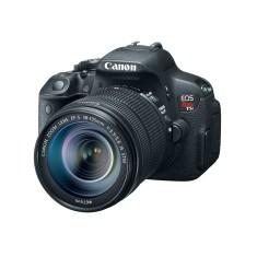Câmera Digital Canon EOS Rebel T5i DSLR(Profissional) Full HD