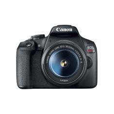 Câmera Digital DSLR(Profissional) Canon EOS 24,1 MP Full HD Rebel T7 Plus