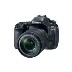 Câmera Digital DSLR(Profissional) Canon EOS 24,2 MP Full HD 80D