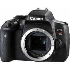 Câmera Digital Canon EOS Rebel T6i DSLR(Profissional) Full HD