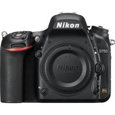 Câmera Digital DSLR(Profissional) Nikon 24,3 MP Full HD D750