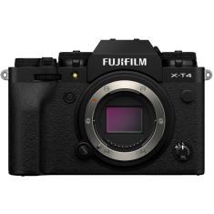 Câmera Digital Mirrorless FujiFilm Série X 26,1 MP 4K X-T4