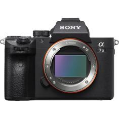 Câmera Digital Semiprofissional Sony Alpha 24,2 MP 4K Alpha a7III