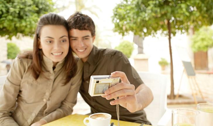 Câmeras digitais com Wi-Fi