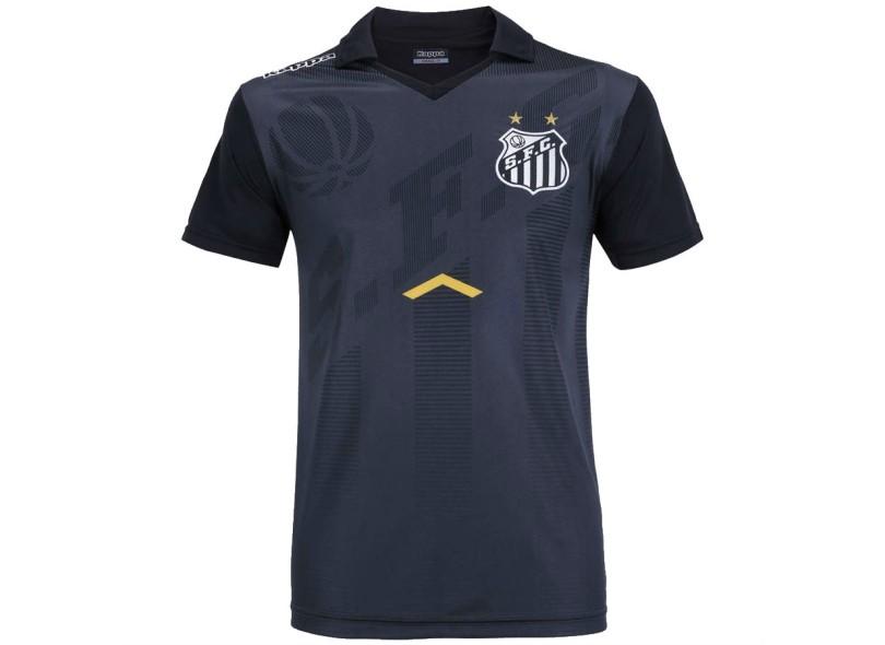 Camisa Polo Santos 2017 18 Comissão Técnica Masculino Kappa 7fde30b2e9f73