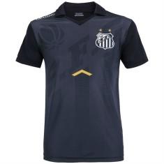 61ef665238 Camisa Comissão Técnica Polo Santos 2017 18 Kappa