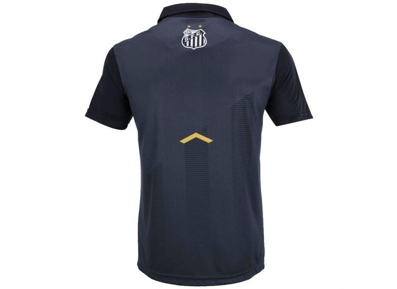 2c1b2a1ac3d50 Camisa Polo Santos 2017 18 Comissão Técnica Masculino Kappa