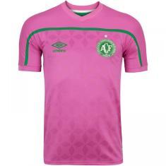 Camisa Edição Especial Chapecoense Outubro Rosa 2020 Umbro