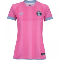 Camisa Edição Especial Feminina Grêmio Outubro Rosa 2017 Umbro c4db040f555db