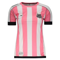 Camisa Edição Especial Feminina Santos Outubro Rosa 2017 Kappa 180de12cabf47