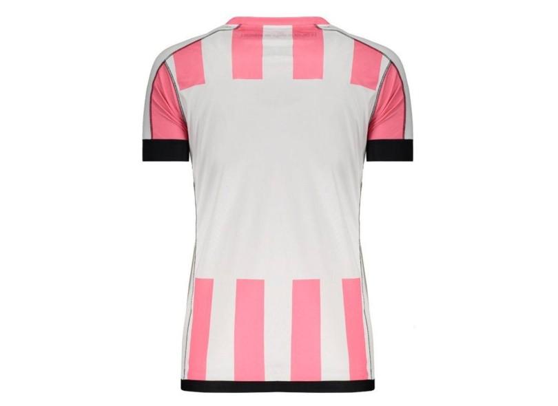 732255c726480 Camisa Feminina Santos Outubro Rosa 2017 Edição Especial Feminino Kappa