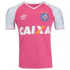 Camisa Goleiro Bahia I 2017 Com Número Umbro