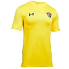 Camisa Goleiro Fluminense I 2017 18 Sem Número Under Armour 4daf14bb402cc