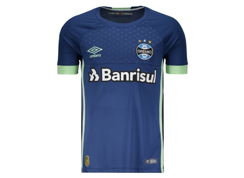 6674fdebb9b7e Camisa Grêmio 2018 19 Goleiro Masculino Umbro