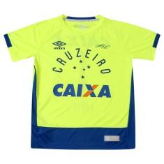 ed35ddf759 Camisa Goleiro infantil Cruzeiro 2016 com Número Umbro