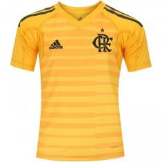 Camisa Goleiro Infantil Flamengo 2018 19 Adidas ba98c5641ac27