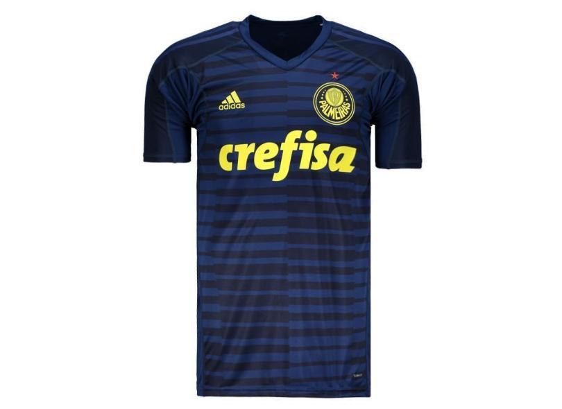 Camisa Palmeiras 2018 19 Goleiro Masculino Adidas abdf426d30a25