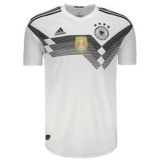 Camisa Jogo Alemanha I 2018/19 sem Número Adidas
