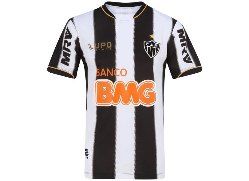 Camisa Atlético Mineiro I 2013 com Número Jogo Masculino Lupo 38f6f12ab062a