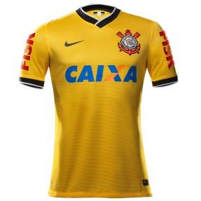 Camisa Jogo Corinthians III 2014 sem Número Nike b44835ee20aa0