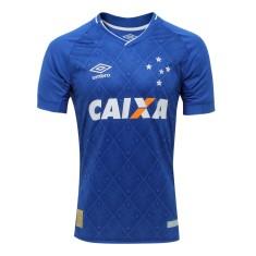 Camisa Jogo Cruzeiro I 2017 18 Sem Número Umbro 784cbdcf52a72