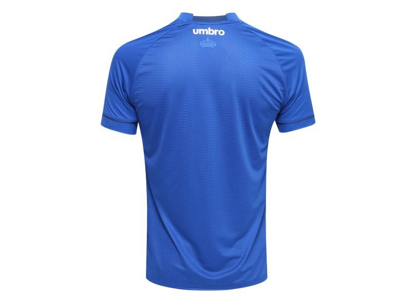 Camisa Cruzeiro I 2018 19 Jogo Masculino Umbro fa0ebd9773b65