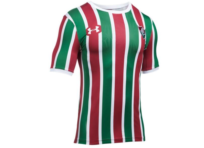 14d655f22f Camisa Fluminense I 2017 18 Sem Número Jogo Masculino Under Armour