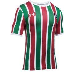 Camisa Jogo Fluminense I 2017 18 Sem Número Under Armour e9eb7457670d0