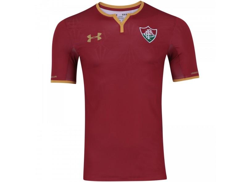 f2e8e0443d Camisa Fluminense III 2017 18 Sem Número Jogo Masculino Under Armour