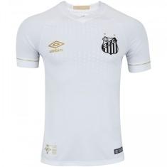 Camisa Jogo Santos I 2018 19 com Número Umbro 5b8e7f19b36f8