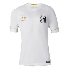 Camisa Jogo Santos I 2018/19 sem Número Umbro