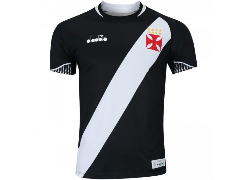 f2c646fdc47df Camisa Vasco da Gama I 2018 19 Jogo Masculino Diadora