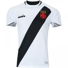 Camisa Jogo Vasco da Gama II 2018 19 Diadora 204238b301106