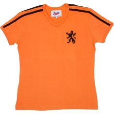 Camisa Retrô Holanda Feminino 1974 Liga Retrô 2bf43e767ddbf