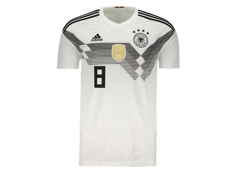 1acc4185e9 Camisa Alemanha I 2018 19 Torcedor Masculino Adidas