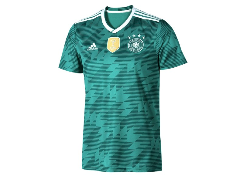 Camisa Alemanha II 2018 19 Torcedor Masculino Adidas e7c6595024ac3