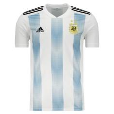 Camisa Torcedor Argentina I 2018/19 Adidas