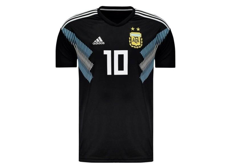 Camisa Argentina II 2018 19 Torcedor Masculino Adidas b2d981caa818d