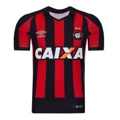 Camisa Torcedor Atlético Paranaense I 2016 sem Número Umbro