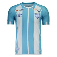 Camisa Torcedor Avaí I 2017 sem Número Umbro 16f4b3c6db283