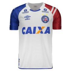 Camisa Torcedor Bahia I 2017 18 Umbro 4b99969fe0365