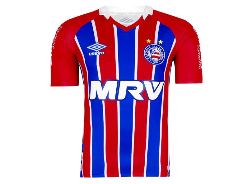 Camisa Bahia II 2016 sem Número Torcedor Masculino Umbro 9532b28b4501e