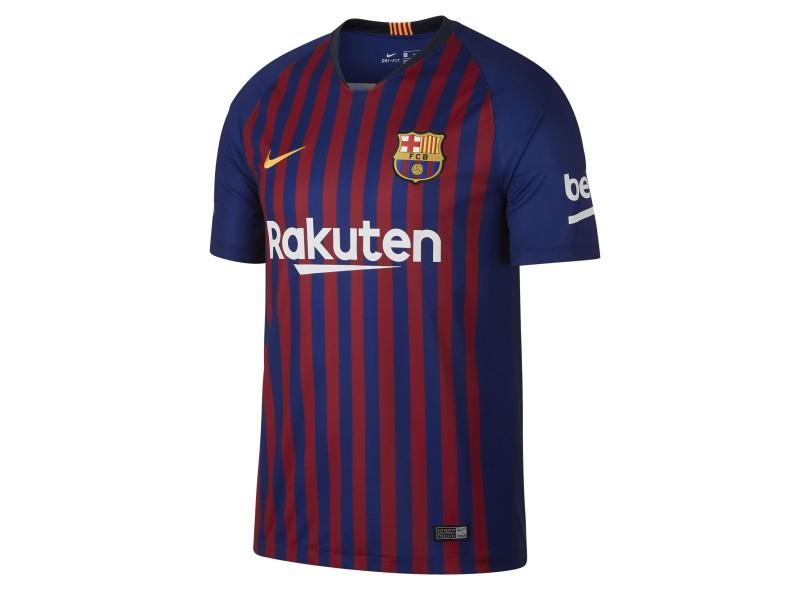 Camisa Barcelona I 2018 19 Torcedor Masculino Nike 6ab61786b22