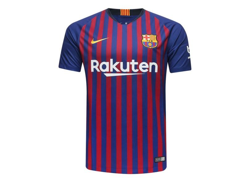 e227cc6d4e1fc Camisa Barcelona I 2018 19 Torcedor Masculino Nike
