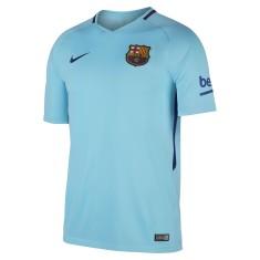 Camisa Torcedor Barcelona II 2017 18 Sem Número Nike cdaae43c56470