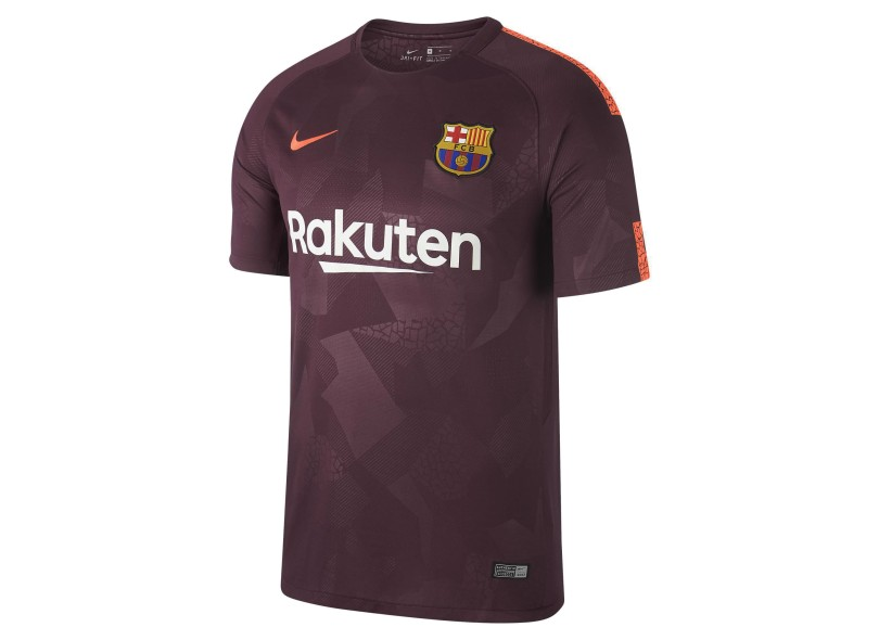 9b3067dd48 Camisa Barcelona III 2017 18 Sem Número Torcedor Masculino Nike