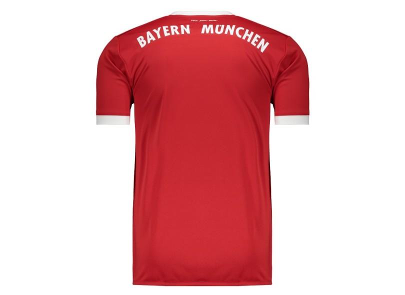 Camisa Bayern de Munique I 2017 18 Torcedor Masculino Adidas 2b01f97fe7cca
